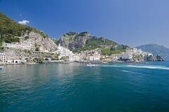 Amalfi cityscape Royalty Free Stock Photos