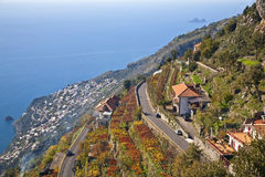 Amalfi Coast Royalty Free Stock Photo