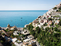 Amalfi coast. Typical old town at the amalfi coast - italy Royalty Free Stock Images