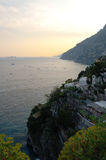 Amalfi Coast. Naples, Italy royalty free stock photo