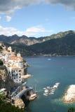 Amalfi Coast. Italian dream on the amalfi coast Stock Photos