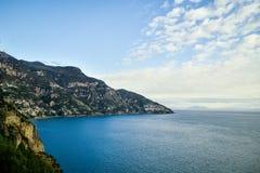 Amalfi Coast. Beautiful coastal towns of Italy - scenic Amalfi town. Famous destination location for tourists visiting Italy royalty free stock photo