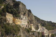 Amalfi Coast buildings Stock Images