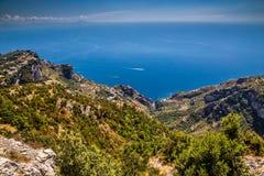 Amalfi Coast - Campania Region, Italy. Amazing Scenery Of Amalfi Coast - Salerno Province, Campania Region, Italy, Europe royalty free stock images