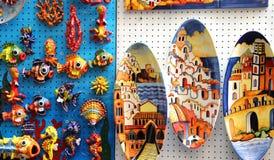 Amalfi coast ceramic dish, Italy. Amalfi coast traditional ceramic dish Royalty Free Stock Images