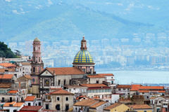 Amalfi coast, City Vietri sul Mare Stock Image