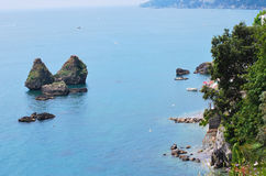Amalfi coast, City Vietri sul Mare Royalty Free Stock Photos