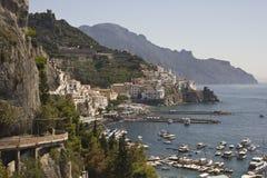 Amalfi Coast Royalty Free Stock Photos