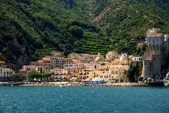 Amalfi coast in Italy Stock Photos