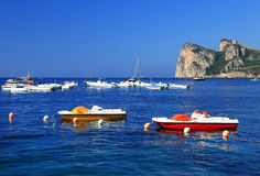 Amalfi Coast, Italy, Europe. Amalfi Coast - luxurious touristic destinationin Europe stock image