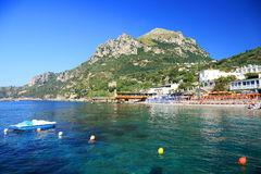 Amalfi Coast, Italy, Europe. Amalfi Coast - luxurious touristic destinationin Europe stock photos