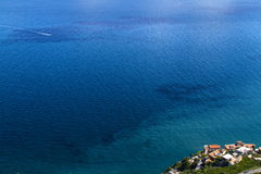 Amalfi Coast - Italy. Famous Amalfi Coast view from the cliffside town of Ravello, Italy stock photography