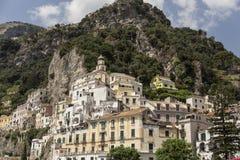Amalfi coast in italy. Royalty Free Stock Photo