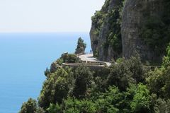 Amalfi coast, Italy stock photography