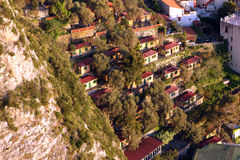 Amalfi Coast Italy. Amalfi coast Sorrentine peninsula Italy royalty free stock photos