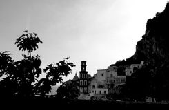 Amalfi coast Italy. Amalfi coast on Sorrento peninsula Italy Stock Photography