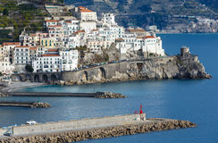 Amalfi Coast, Italy. Royalty Free Stock Photography
