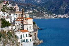 Amalfi Coast, Italy. Royalty Free Stock Images