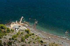 Amalfi-Coast, Italy. View of the coast near Praiano Royalty Free Stock Images
