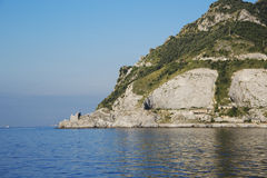 Amalfi Coast. One of the headlands overlooking the sea on the Amalfi Coast Royalty Free Stock Photo