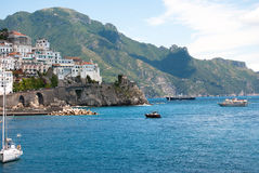 Amalfi Coast peninsula Stock Photo