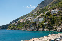 Amalfi Coast peninsula Stock Image