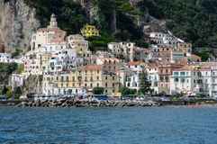 Amalfi coast Royalty Free Stock Images