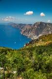 Amalfi Coast And Positano - Campania Region, Italy. Positano And Amazing Scenery Of Amalfi Coast - Salerno Province, Campania Region, Italy, Europe royalty free stock photos