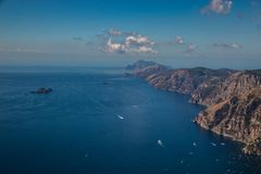 Amalfi Coast And Positano - Campania Region, Italy. Positano And Amazing Scenery Of Amalfi Coast - Salerno Province, Campania Region, Italy, Europe stock photo
