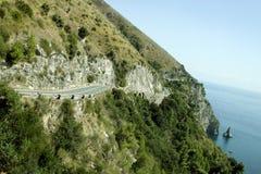 Amalfi Coast Road Stock Photography