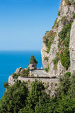 Amalfi coast road Stock Photography