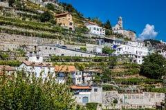 Amalfi Coast - Salerno, Campania, Italy, Europe. Village On Amalfi Coast - Salerno Province, Campania Region, Italy, Europe stock image