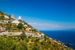 Amalfi Coast - Salerno, Campania, Italy, Europe. Village On Amalfi Coast - Salerno Province, Campania Region, Italy, Europe royalty free stock image