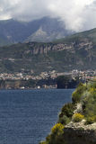 Amalfi Coast at Sorrento, Italy. Stock Photos
