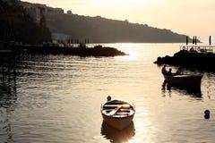 Amalfi Coast Sunset Italy Royalty Free Stock Photos
