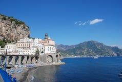 Amalfi Coast town of Almati Royalty Free Stock Photo