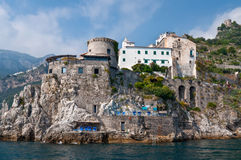 Amalfi Coast View, Italy Stock Photos
