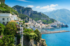 Amalfi Coast view Stock Photo