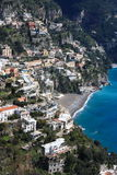 Amalfi coast, a world heritage site in Italy Stock Image