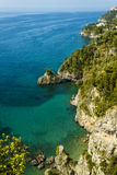 Amalfi Coastal View Royalty Free Stock Photos