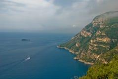 Amalfi Coastline Stock Photography