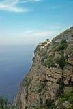 Amalfi Coast, Italy. Houses perched on cliff by coastline of Amalfi, Italy Stock Photography