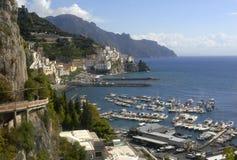Amalfi Coastline Stock Images
