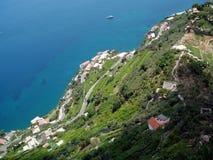 Amalfi Coastline Royalty Free Stock Images