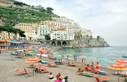 Amalfi Coastline, Italy Stock Photos