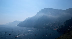 Amalfi coastline. A view of the amalfi coastline Royalty Free Stock Photos