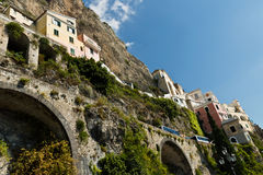 Amalfi-costa, Italia Imagen de archivo