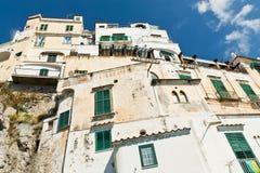 Amalfi-costa, Italia Fotografía de archivo libre de regalías