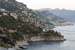 Amalfi Costiera Amalfitana Imágenes de archivo libres de regalías