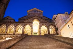 Amalfi Dome, Italy royalty free stock photos